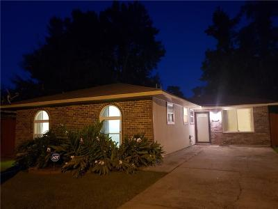 Marrero Single Family Home For Sale: 2713 Russell Drive