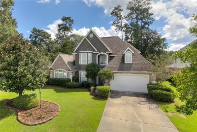 Mandeville Single Family Home For Sale: 1565 Stillwater Drive
