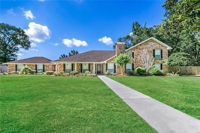 Slidell Single Family Home For Sale: 320 Maplewood Lane