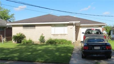 Metairie Single Family Home For Sale: 1370 Sigur Avenue