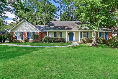 Mandeville Single Family Home For Sale: 228 E Richland Drive