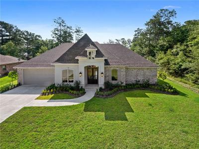 Madisonville Single Family Home For Sale: 200 Belle Pointe Road