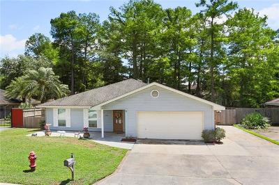 Destrehan, St. Rose Single Family Home For Sale: 20 Parlange Drive