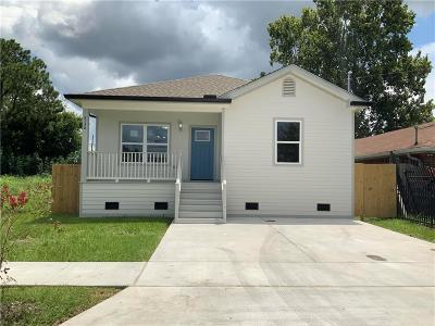 Kenner Single Family Home For Sale: 3136 Lexington Street