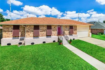Kenner Single Family Home For Sale: 4116 Platt Street