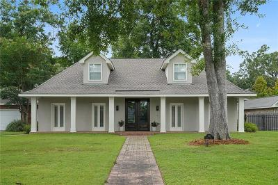 Madisonville Single Family Home For Sale: 101 Bayou Perez Drive