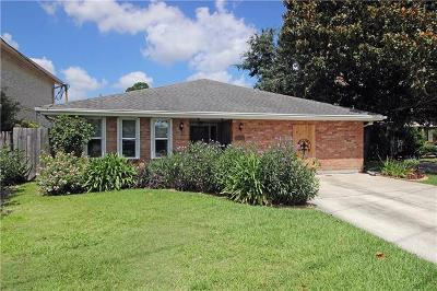 Metairie Single Family Home For Sale: 4704 Wilson Drive