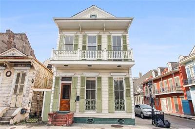 French Quarter Townhouse For Sale: 742 Barracks Street