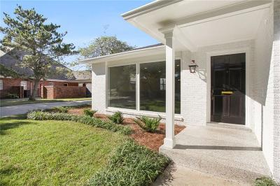 New Orleans Single Family Home For Sale: 1755 Oriole Street