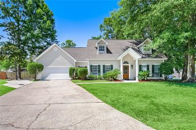 Mandeville Single Family Home For Sale: 828 Shadow Oak Lane