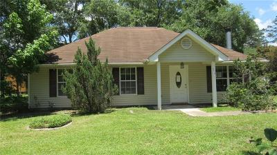 Lacombe LA Single Family Home For Sale: $114,000
