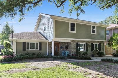 River Ridge, Harahan Single Family Home For Sale: 821 Roseland Parkway