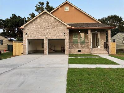 Kenner Single Family Home For Sale: 3416 Arkansas Avenue