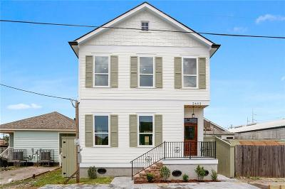 Single Family Home For Sale: 2643 St Peter Street