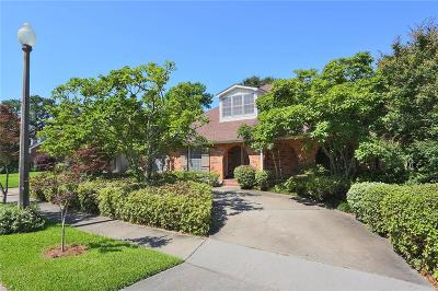 Metairie Single Family Home For Sale: 3608 Cleveland Place