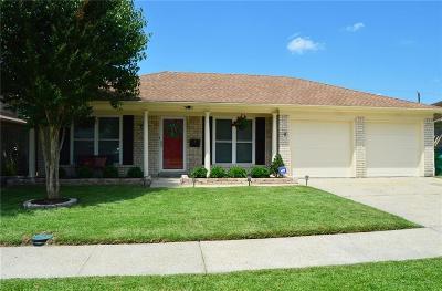 Gretna Single Family Home For Sale: 2113 S Glencove Lane