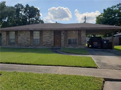 New Orleans Single Family Home For Sale: 3409 Pittari Place