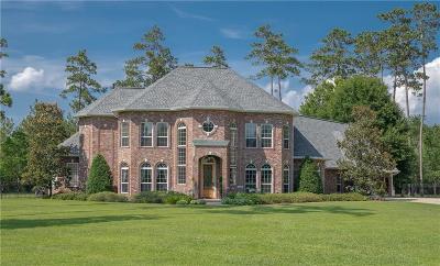 Madisonville Single Family Home For Sale: 532 Pelican Ridge Drive