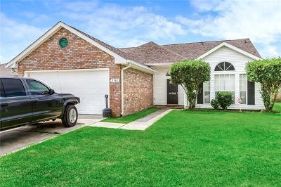 Marrero Single Family Home For Sale: 2586 Foliage Drive