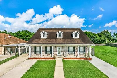Arabi Single Family Home For Sale: 820 Terry Drive