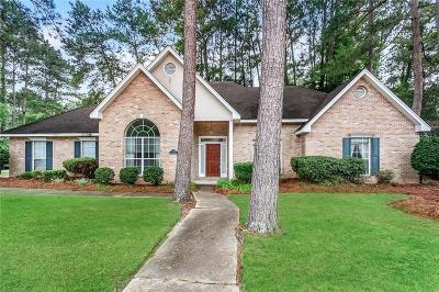 Mandeville Single Family Home For Sale: 7119 Creekwood Drive