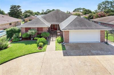 Kenner Single Family Home For Sale: 3425 Maryland Avenue