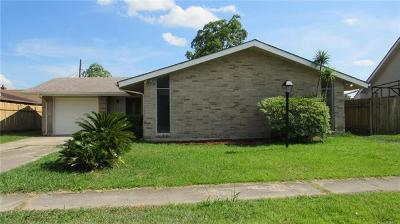 Gretna LA Single Family Home For Sale: $199,000