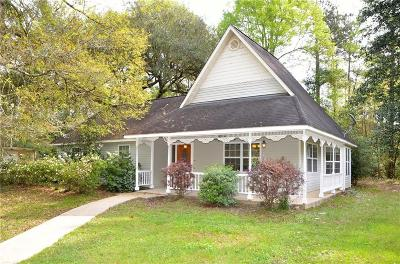 Covington Single Family Home For Sale: 17120 Three Rivers Road
