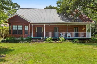 Covington Single Family Home For Sale: 76505 Hwy. 1081 Highway