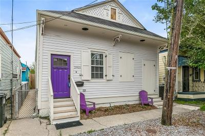Single Family Home For Sale: 2913 St. Peter Street