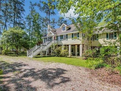 Slidell Single Family Home For Sale: 34550 W Dubuisson Road