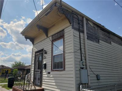 New Orleans Single Family Home For Sale: 3611 N Robertson Street
