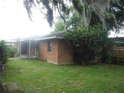 Marrero Single Family Home For Sale: 2036 James Drive