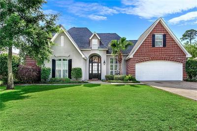 Mandeville Single Family Home For Sale: 864 Sweet Bay Drive
