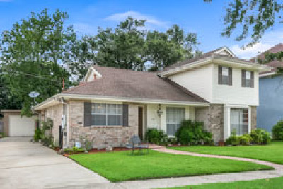 Metairie Single Family Home For Sale: 3917 Haddon Street