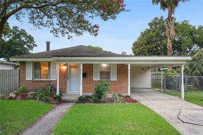 Metairie Single Family Home For Sale: 624 N Atlanta Street