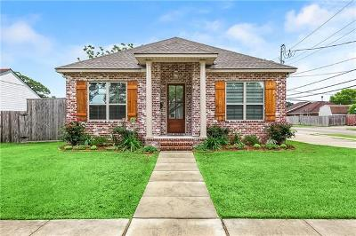 Kenner Single Family Home For Sale: 1701 Michigan Avenue