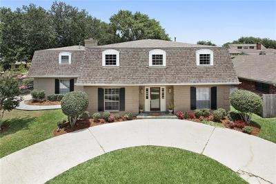 Kenner Single Family Home For Sale: 1100 Vintage Drive