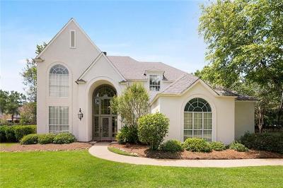 Mandeville Single Family Home For Sale: 1354 Rue Bayonne
