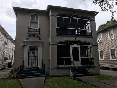 New Orleans Multi Family Home For Sale: 3400 Louisiana Ave Park