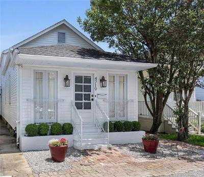 New Orleans Single Family Home For Sale: 4719 Chestnut Street