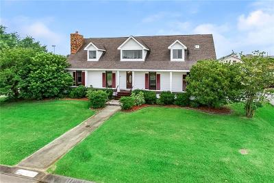 Harvey Single Family Home For Sale: 3620 Lake Des Allemands Drive
