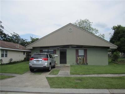 Marrero Single Family Home For Sale: 1233 Manson Drive