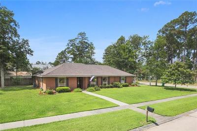 Slidell Single Family Home For Sale: 90 E Forest Drive