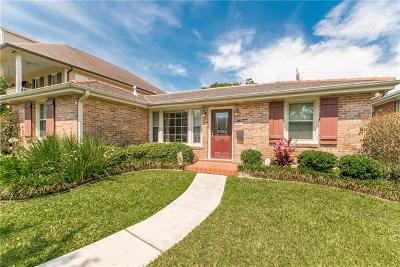 New Orleans Single Family Home For Sale: 6860 General Diaz Street