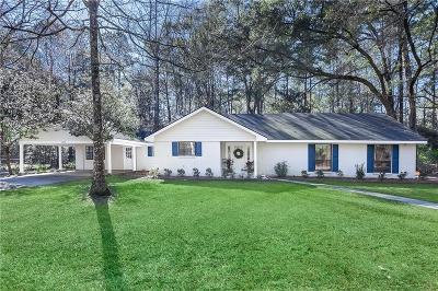 Covington Single Family Home For Sale: 49 Patricia Drive