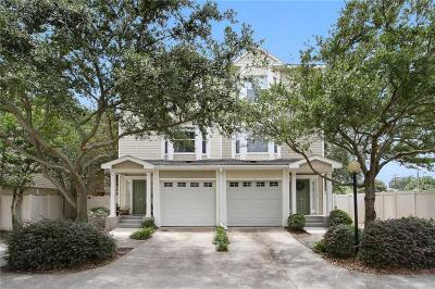 Metairie Multi Family Home For Sale: 1436 Lake Avenue #H
