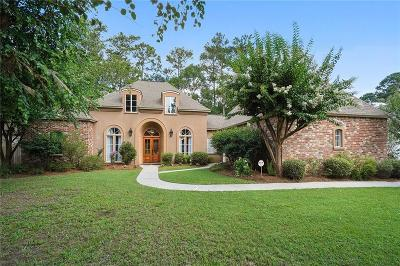 Mandeville Single Family Home For Sale: 341 Winchester Circle