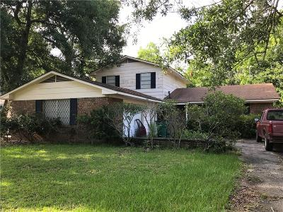Slidell Single Family Home For Sale: 614 Dale Drive
