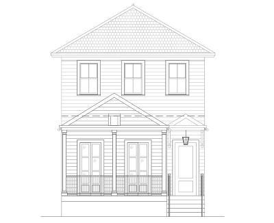 Single Family Home For Sale: 1429 General Ogden Street